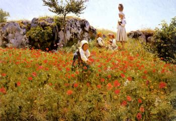 Viggo Pedersen : Picking Poppies, Sora